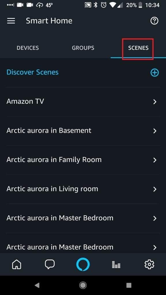 Echo Smart Home Scenes