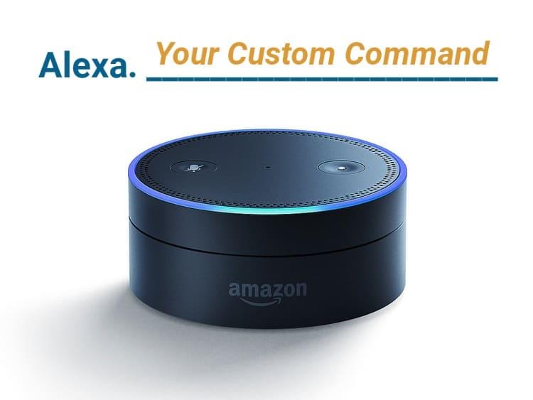 Custom Amazon Alexa Command