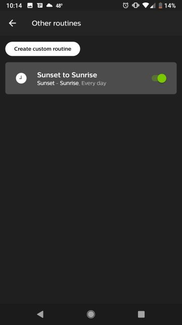 Complete Sunset to Sunrise Timer