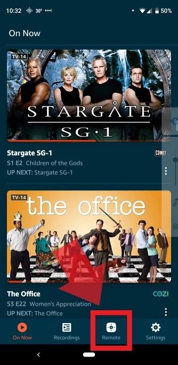 Amazon Fire TV App Remote