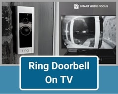 Ring Doorbell on TV