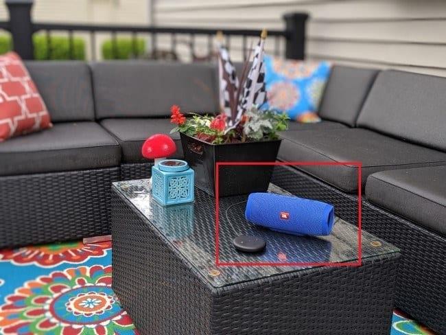 Echo Input Portable Outdoor Speaker