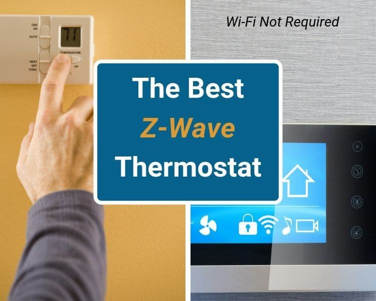 Works with Alexa Z-Wave TRANE Thermostat Thermostats & Accessories ...