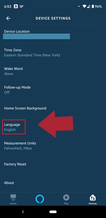 How to Change Alexa Voice Language