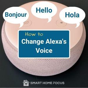 How to Change Alexa Voice