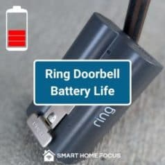 Ring Doorbell Battery Life