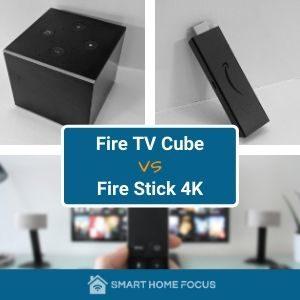 Fire TV Cube vs Fire Stick 4K
