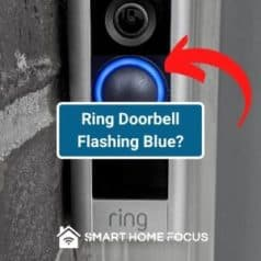 Why is Ring Doorbell Flashing Blue?